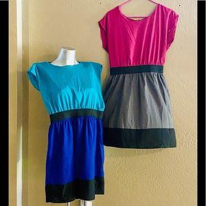 BeBop Color Blocking Dress Bundle (2)